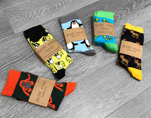 bamboo socks that save the world