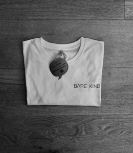 100% Recycled T-Shirt: Bare Kind Logo