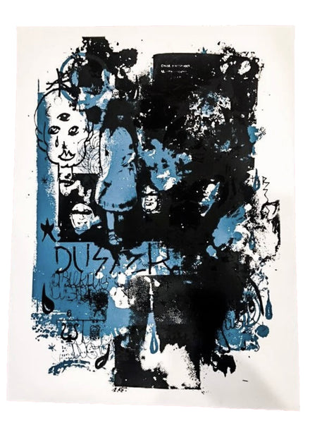 Duster Silk-Screened Poster