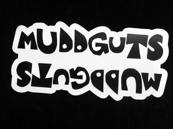 Muddguts Top-Tube Sticker