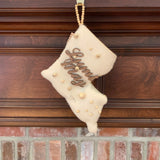 Louisiana Christmas Stocking