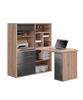 Maja Mini Office 9565 in Sonoma Oak and High Gloss Grey (9565 2574)