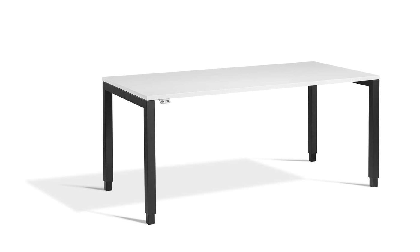 Tremendous Lavoro Small Apex Designer Height Adjustable Office Desk With Black Frame Home Interior And Landscaping Pimpapssignezvosmurscom