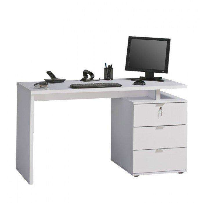 Image of the Maja Victoria White Home Office Desk