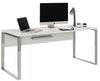 Image of the Maja YAS 1500mm Width Office Desk in White in use