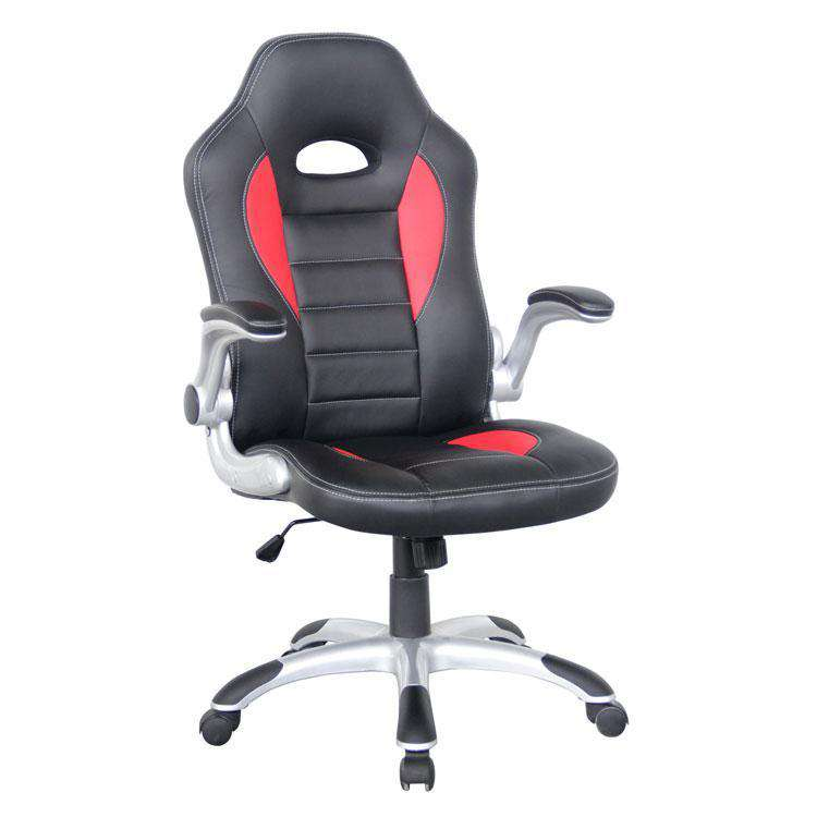Alphason Taladega Black and Red Racing Style Chair (AOC8211R)
