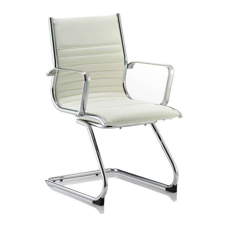 Dynamic Ritz Visitor Office Chair in White