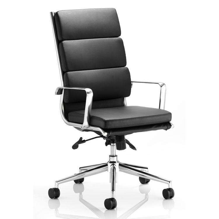Dynamic Savoy High Back Executive Office Chair in Black