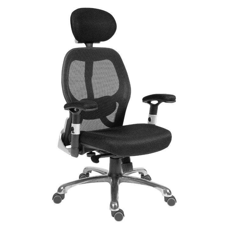 Teknik OA1013BK - Cobham Mesh Executive Office Chair in Black