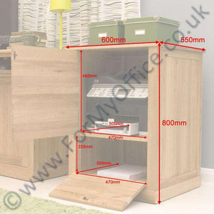 mobel oak desk height printer cupboard cor07c default title sold out