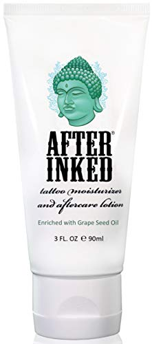 After Inked Tattoo Moisturizer & Aftercare Lotion 3oz Tube: Gateway