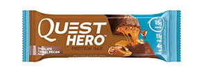 Quest Nutrition Hero Protein Bar Variety Pack. Low Carb Meal Replacement Bar w/ 20gram Protein. High Fiber, No Soy, No Gluten(12 Count): Gateway