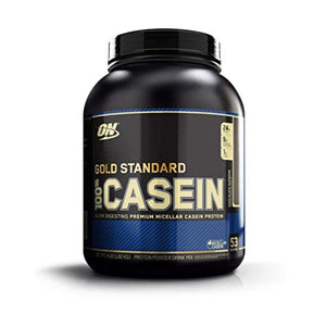 OPTIMUM NUTRITION Gold Standard 100% Micellar Casein Protein Powder, Slow Digesting, Helps Keep You Full, Overnight Muscle Recovery, Chocolate Supreme, 4 Pound: Gateway