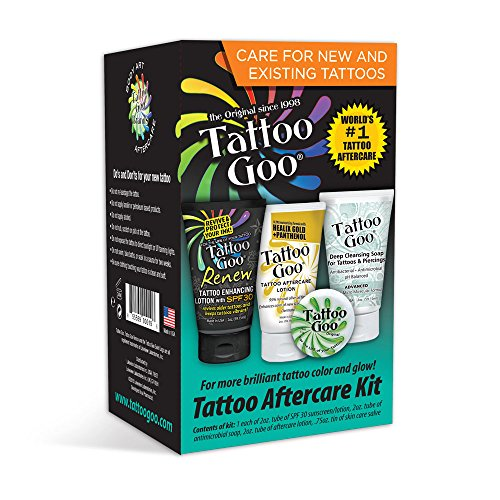 Tattoo Goo Tattoo Aftercare Kit: Gateway