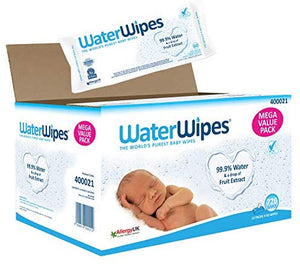 WaterWipes Baby Wipes Sensitive Newborn Skin, 720 Wipes: Amazon.co.uk: Health & Personal Care