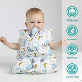 Lictin Baby Sleeping Bag - Baby Sleeping Sack Wearable Blanket 2.5 Tog, Baby Grow Bag Swaddle Wrap with Adjustable Length 90-110cm for Infant Toddler 18 to 36 Months: Amazon.co.uk: Clothing
