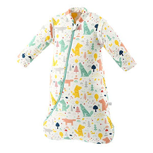 MIKAFEN Baby Winter Sleeping Bag Kids Sleeping Bag 3.5 Tog Organic Cotton Sleeping Bag Various Sizes from Birth to 4 Years Old: Amazon.co.uk: Clothing