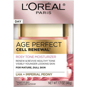 L'Oreal Paris Age Perfect Cell Renewal* Rosy Tone MoisturizerL'Oreal Paris Age Perfect Cell Renewal* Rosy Tone Moisturizer