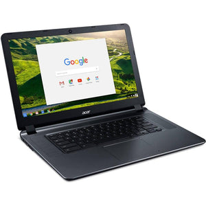 "Acer CB3-532-C47C 15.6"" Chromebook, Chrome OS, Intel Celeron N3060 Dual-Core Processor, 2GB RAM, 16GB Internal StorageAcer CB3-532-C47C 15.6"" Chromebook, Chrome OS, Intel Celeron N3060 Dual-Core Processor, 2GB RAM, 16GB Internal Storage"