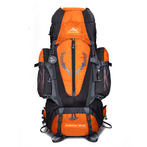 Large 85L Outdoor Backpack Travel Multi-purpose Climbing Backpacks Hiking Big Capacity Rucksacks Camping Waterproof Sports Bags