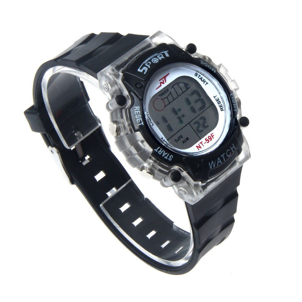 Colorful LED Electronic Sports Watch