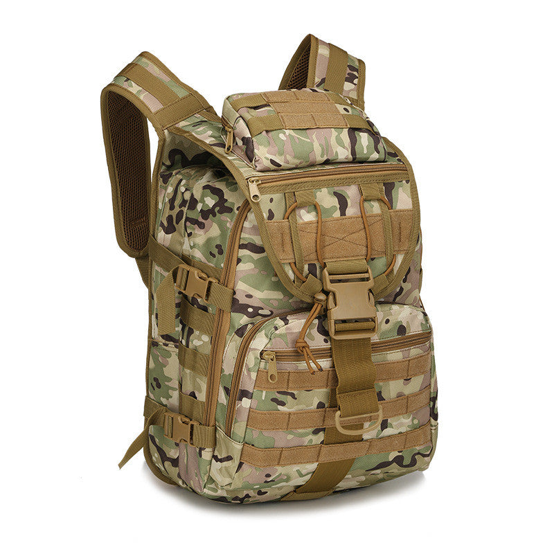 40L Tactical Daypack MOLLE Assault Backpack Pack Military Rucksack