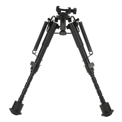 6-9 Inch Adjustable Telescopic Tactical Bipod Portable Spring Return Sniper Hunting Tool Bipod