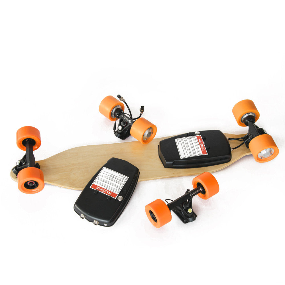 Max Kit - Dual motor electric Longboard 4 wheels electric skateboards with remote controller moped self balance scooters kits