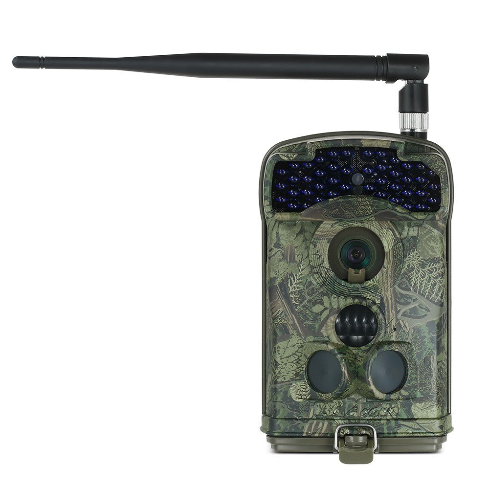 12MP 1080P Wireless MMS / SMTP / FTP 3G Trail Camera Hunting Game Camera Outdoor Wildlife Scouting Camera with 3 PIR Sensors Infrared Night Vision SMS Command  IP66 Waterproof 100 Degree Wide Lens Angle