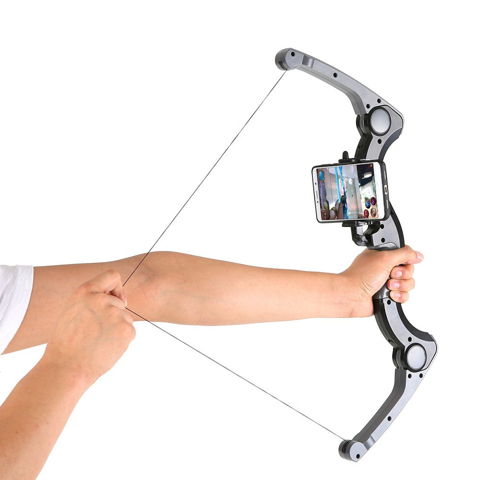 Newest Augmented Reality ABS Material  AR Archery Combines with BT Connection Virtual High-tech Bow-shaped Gaming