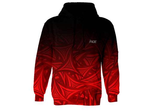 Red Blade FADE Hoodie