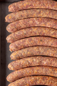 BACON CHEDDAR JALAPENO SAUSAGE- Sold by the LINK