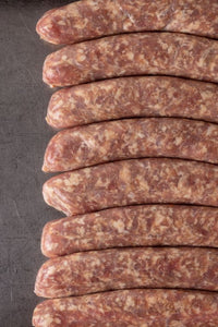 BRATWURST SAUSAGE- Sold by the LINK