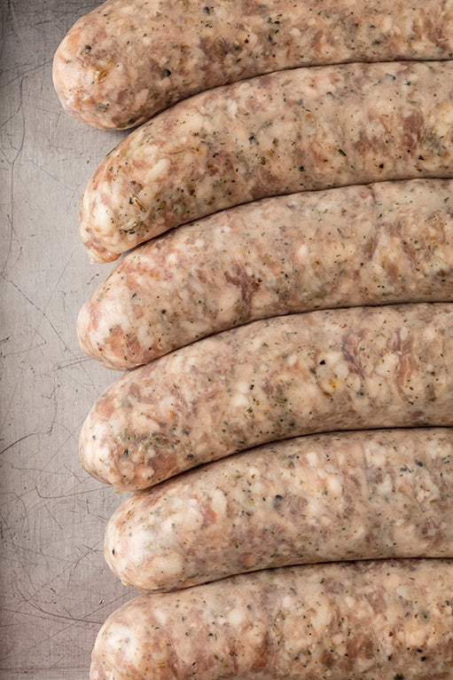 ITALIAN SAUSAGE - GOAT CHEESE - Sold by the LINK