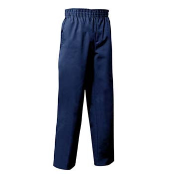 Navy Pants - Pull On
