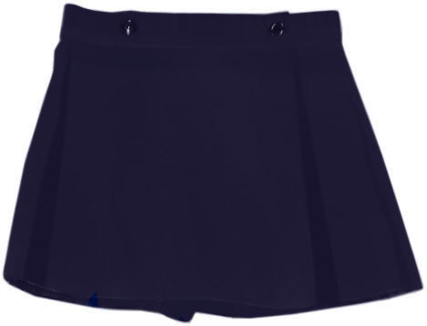 Navy Skort  - Solid