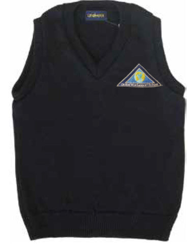 Navy Vest - Adult - Global Montessori
