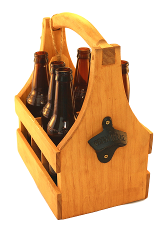 Craft Beer Totes w/ bottle opener