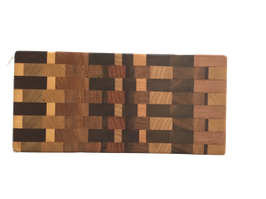 Rectangle End Grain Cutting/Serving Board