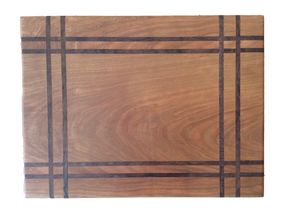 Flat Grain w/ Walnut Inlay