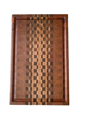 Large End Grain Cutting/Serving Board