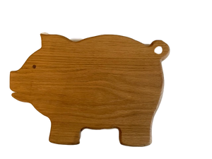 471 Pig Shaped Cutting/Serving Board