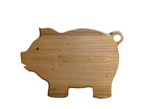 Pig Shaped Cutting/Serving Board