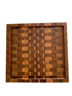 Medium Sized End Grain Cutting/Serving Board