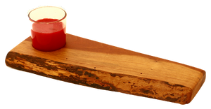 Cherry Live Edge Candle holder