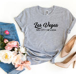Las Vegas Sin City Nevada T-shirt - Lady Galore