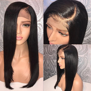 4x4 Closure Wig Straight Lace