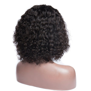 Deep Curly Bob Lace Frontal