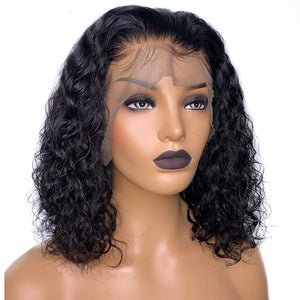 Deep Curly Bob Lace Frontal - Lady Galore