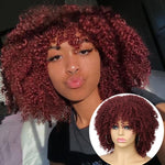 Afro Kinky Synthetic Wig - Lady Galore